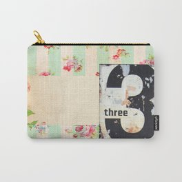 Shabby Three Carry-All Pouch