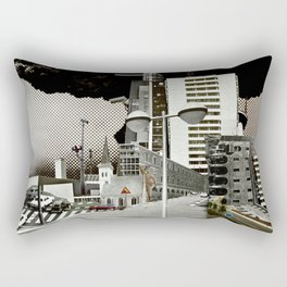 city unreal 7 DeadEnd Rectangular Pillow