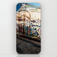 grafitti iPhone & iPod Skins featuring Grafitti Train by Squint Photography