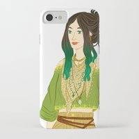 grantaire iPhone & iPod Cases featuring GENDERBENT : GRANTAIRE by Cy-lindric