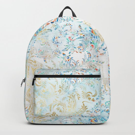Feather peacock #15 Backpack