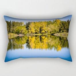 Beautiful Lake Rectangular Pillow