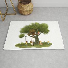 Tree Kids House Rug