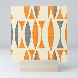 Seventies  orange Mini Art Print