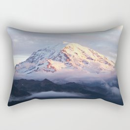Marvelous Mount Rainier 2 Rectangular Pillow