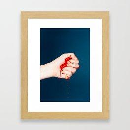 Cherry Pop Framed Art Print