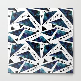 Galaxy Geometric Pattern 35 Metal Print