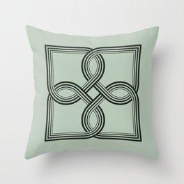 lineart-05 Throw Pillow