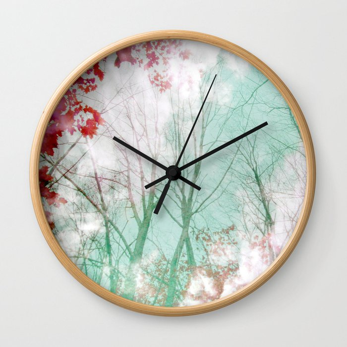Candy Stripe Wall Clock