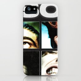 5 happy face iPhone Case
