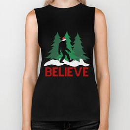 Cryptid Christmas Miracle Biker Tank