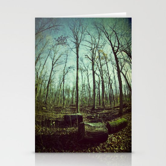 Where Giants Walk Stationery Cards