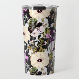 Flowery abstract garden Travel Mug