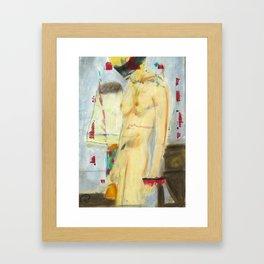 Nude Lady Framed Art Print