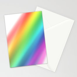 Rainbow Haze Stationery Cards