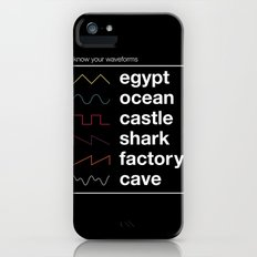 Know your Waveforms iPhone (5, 5s) Slim Case
