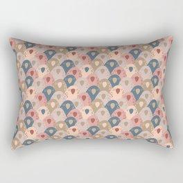 Ovopornis - beige Rectangular Pillow