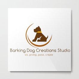 Barking Dog Creations Studio Metal Print