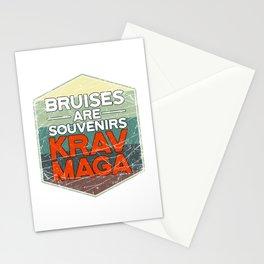 Bruises Are Souvenirs Krav Maga Stationery Cards