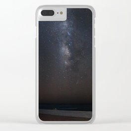 Midnight on the Beach Clear iPhone Case