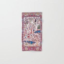 Esfahan Central Persian Silk Rug Print Hand & Bath Towel