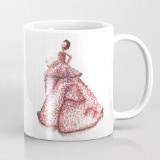Slight Arc Watercolor Fashion Illustration Mug