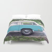 vw Duvet Covers featuring VW by myhideaway