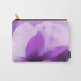 Abstract Painting Anemone Flower Purple Carry-All Pouch
