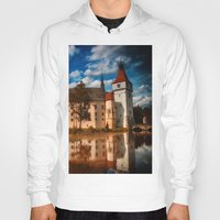 castle in the sky Hoodies featuring Castle by DistinctyDesign
