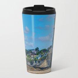 Sunny Day at Victoria Beach Travel Mug
