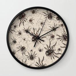 Crab Spider  Khaos Wall Clock