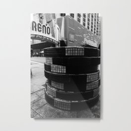 Biggest little city Metal Print