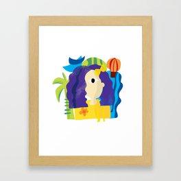 Is that Leela? Framed Art Print