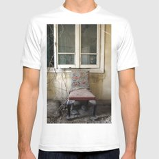 Whore Chair Mens Fitted Tee White SMALL