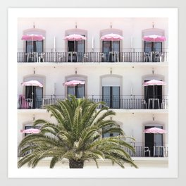 Life in Pink Art Print