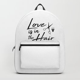 Love is in the Hair Backpack