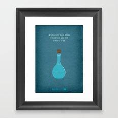 Breaking Bad - Salud Framed Art Print