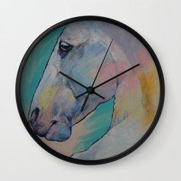 Lipizzan Stallion Wall Clock