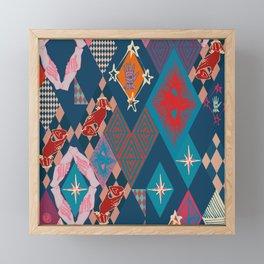 Circus_vintage Framed Mini Art Print