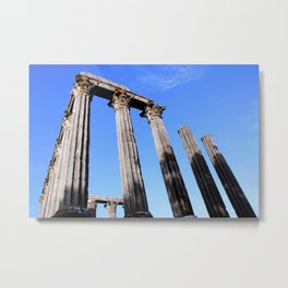 Diana Temple Metal Print