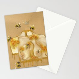 Honey Queen Stationery Cards