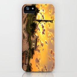 lighthouse landscape sky iPhone Case
