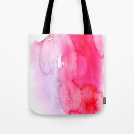 watercolor splash Tote Bag