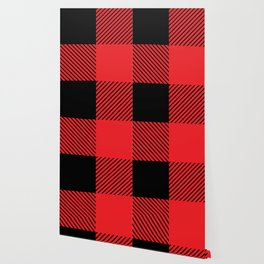 Buffalo Plaid Scottish Lumberjack Wallpaper
