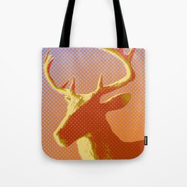 Sunset Stag Tote Bag
