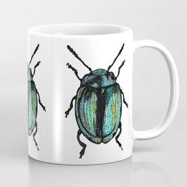 Blue Beetle Coffee Mug