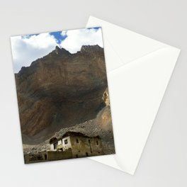 Under the shadows of the moutains Stationery Cards
