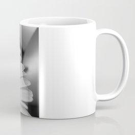 Gerbera Daisy B&W Coffee Mug