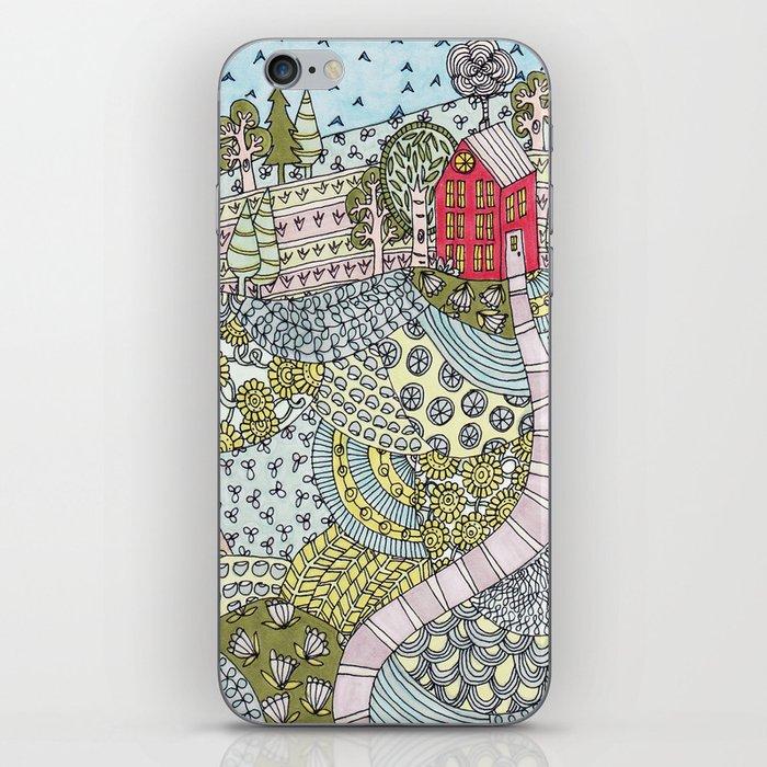 island house iPhone Skin