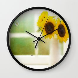 Summers Window Wall Clock